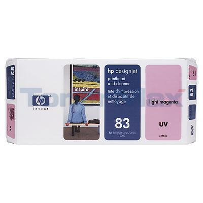 HP DESIGNJET 5000 NO 83 UV PRINTHEAD & CLEANER LT MAGENTA